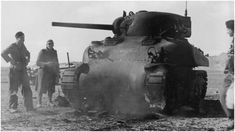 Destroyed Sherman tank and Afrika Korps troops Tunisia Rock Island Arsenal, Afrika Korps, Sherman Tank, Tank Destroyer, Battle Tank, D Day, Armored Vehicles, Second World, North Africa