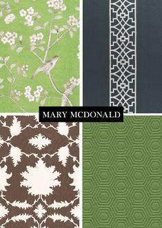 Mary McDonlad Chinoiserie Fabric