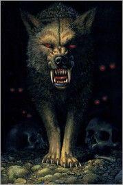Chris Hiett - Dämonenwolf