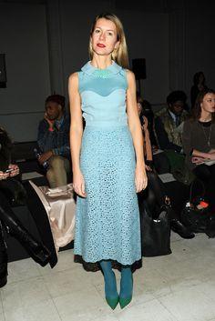 Natalie Joos - Giulietta - Front Row - Fall 2013 Mercedes-Benz Fashion Week