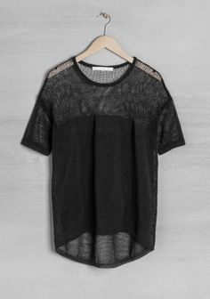 Other Stories - Mesh knit top £27