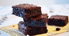kakaové brownies s kakaom bez cokolady