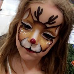 Image result for christmas face painting #facepaintingbooth #facepaintingbusiness