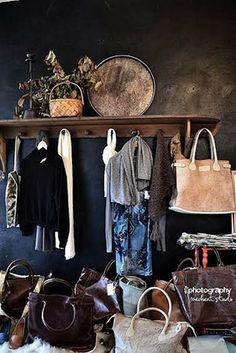 Méchant Design: La Maison Pernoise - Concept Store use for hook boards...large..shelf..clothes etc