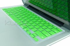 "Kuzy - GREEN Keyboard Silicone Cover Skin for Macbook / Macbook Pro 13"" 15"" 17"" Aluminum Unibody"