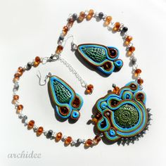 POLYMER CLAY SOUTACHE   POLYMER CLAY CREATIONS UPDATE