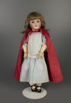 German bisque doll from the turn of the 20th century.