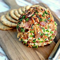 Food I Food: Bacon Jalapeno Cheese Ball Easy Appetizer Recipe