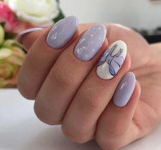 Gel polish nails 2018 trends