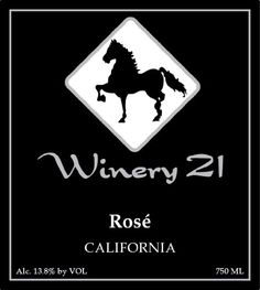 NV Winery 21 California Rosé 750 mL -- Find out more details…