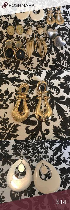 Earrings bundle Earring bundle. 6 mix styles for 14. Jewelry Earrings