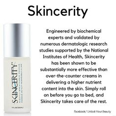 www.buynucerity.com/354404 Network Marketing Tips, Love Your Skin, Research Studies, National Institutes Of Health, Salon Ideas, Skin Cream, Life Is Beautiful, Anti Aging, Create
