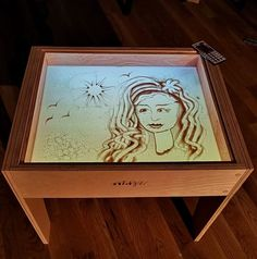 Art, Play, Crafts for kids - Activity light table, board, sand games Sensory Bins, Sensory Activities, Activities For Kids, Crafts For Kids, Sand Drawing, Sand Game, Chalkboard Markers, Acrylic Board, Board Games For Kids