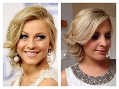 Celebrity Inspired Hair Right hand side by UpStyle Junkie Bridal Hair And Makeup, Hair Makeup, Inspirational Celebrities, Wedding Updo, Updos, Hairstyles, Pretty, Celebrity, Inspired