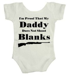 This is funny..my husbands told my mom we needed to have kids soon our he'll be shooting blanks