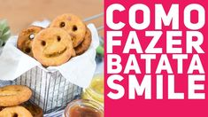 BATATA SMILE CASEIRA (Como fazer batata sorriso ou carinha) - Receitas d...