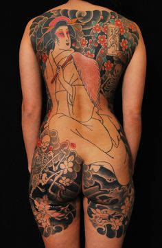 Japanese Tattoos by Horihana