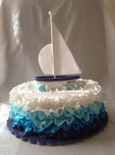 Ombré! Sailing boat