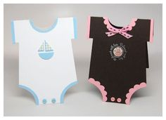 Little Bundles of Joy!  - Onesie card and other baby items