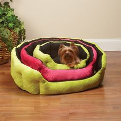 Slumber Pet Dimple Plush Nesting Dog Bed