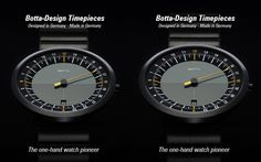 Watch shop with one-hand watches and designer watches