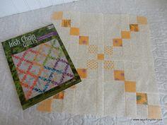 A Quilting Life - a quilt blog: Irish Chain Quilts Blog Hop