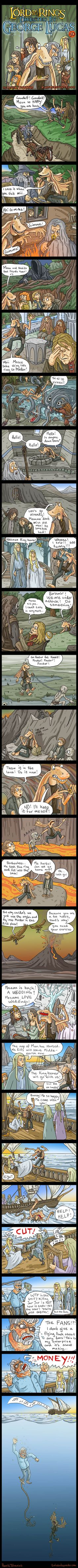 The Lord Of The Rings – Directed by George Lucas