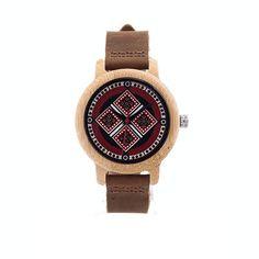 Creston - Lux-Pattern Bamboo Watch