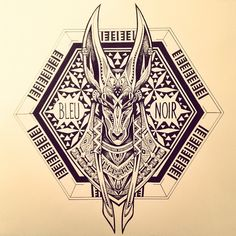 "347 Likes, 19 Comments - Violette Chabanon (@violette_bleunoir) on Instagram: ""#anubis #bleunoir"""