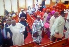 nodullnaija: Amaechi's Confirmation: PDP Senators Staged A Walk...