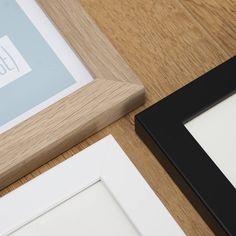 Homemade Black Photo Frames