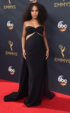 Kerry Washington: 2016 Emmys Red Carpet Arrivals