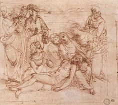 Lamentation over the Dead Christ via Raphael