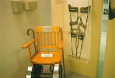 FDR's Wheel Chair and Leg Braces