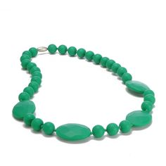 Chewbeads Perry Teething Necklace.  I SO want one (or two) of these!