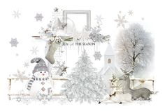 """Joy Of The Season"" by carla-altum ❤ liked on Polyvore featuring art"