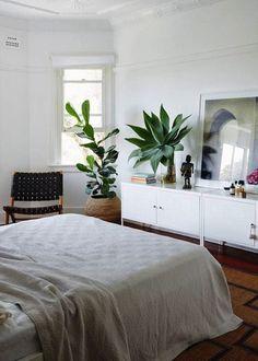 13 Beautiful Botanical Bedrooms via Brit + Co
