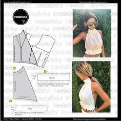 Fashion Sewing, Diy Fashion, Sewing Clothes, Diy Clothes, Clothing Patterns, Sewing Patterns, Costura Fashion, Modelista, Gown Pattern
