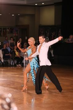 Rose Dimov and Donovan Dominguez at People's Choice 2015. Sponsored couple by Artistry In Motion by Julia Gorchakova