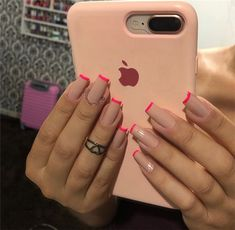 40 Best Acrylic Square Nails Designs In Summer - Septor Planet Nails Square Acrylic Nails, Best Acrylic Nails, Acrylic Nail Designs, Aycrlic Nails, Swag Nails, Coffin Nails, Grunge Nails, Square Nail Designs, Fire Nails