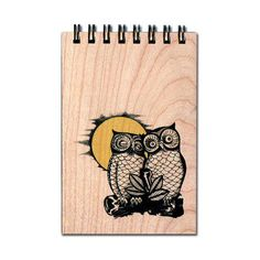 Dot & Bo Owl Say Notepad (1620 ALL) ❤ liked on Polyvore featuring home, home decor and stationery