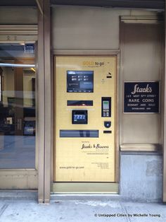 On 57th Street, between 6th and 7th Avenue, across from the Parker Meridien Hotel, is this Gold ATM. Thats right, a machine that dispenses gold. There are currently only 20 such Gold ATMs in the world, all made byTG Gold-Super-Marktcorporation, an online trading platform for precious metals. The machines are the brainchild of TG Gold-Super [...]