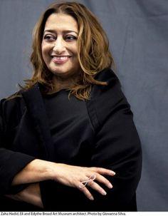 Zaha Hadid - Best female architect.