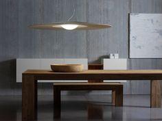 Modern Furniture // modern light fixture - Mood by Annarosa Romano and Bruno Menegon for ModoLuce via» CONTEMPORIST
