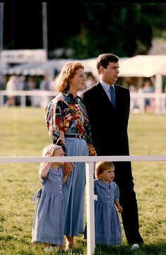 Princess Eugenie has shared a powerful photo of her family ahead of her 28th birthday on Friday. The sweet snap shows a two-year-old Eugenie with her big sister, Princess Beatrice, and their parents, Prince Andrew and Sarah Ferguson, attending the Royal Windsor Horse Show in 1992.