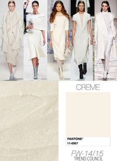 CREME fall winter 2014 trend colours
