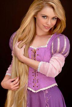 Las princesas de Disney son reales! Rapunzel!