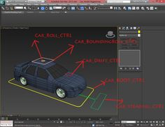 Car Rigging 3ds Max Tutorial