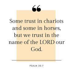 Psalm 20, Names Of God, Faith In God, Christian Faith, Holy Spirit, Inspire Me, Bible Verses, Trust, Lord
