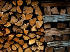A wood stack was the life of a farm with out electricity. My Grandfather staked his wood very carefully in the shed so that it stayed dry and was always ready to use to heat the house and for the wood burning cook stove.